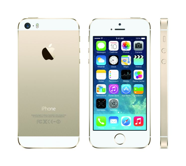 iPhone 5S in another color option, Gold