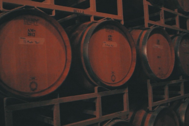 This is barrel tasting so you see many of these.