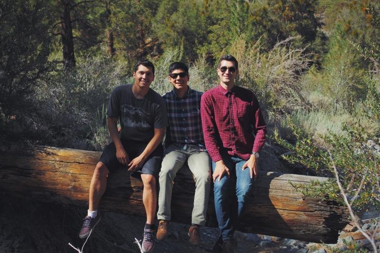 Mikey, Keenan and myself.